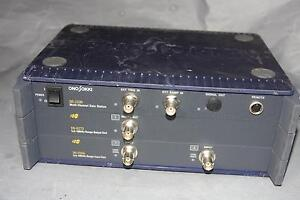 Ono Sokki Ds 2000 2ch 100khz Sound Vibration Real time Fft Analyzer Data Station
