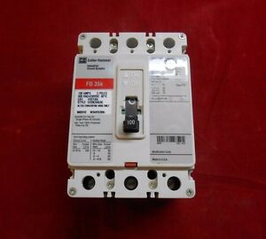 Cutler hammer Fd3100l Circuit Breaker 100amp 3 pole 600v New panel Pull out