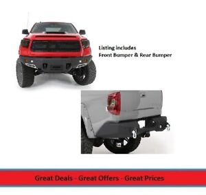 Smittybilt M1 Front And Rear Bumper Combo For 14 16 Toyota Tundra