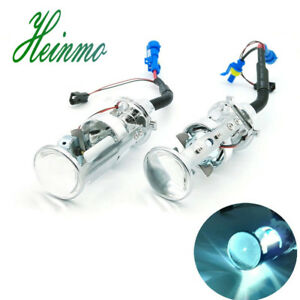 Ac Car H4 Mini Projector Lens Headlight Kit Bulbs Headlamp Bi Xenon Hid Hi Lo