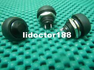 100 black Momentary Off on Push Button Car Switch 33bk