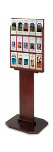 Wood Literature Rack Brochure Holder Brochure Stand Literature Stand