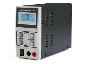 Dc Lab Switching Mode Power Supply 0 30 Vdc 0 5 A Max With Lcd Display