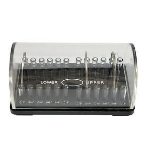 Orthodontic Preformed Wire Acrylic Organizer Dental Holder Case Box Transparent