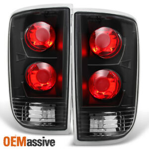 Fit 1995 2004 Chevy Blazer S10 Gmc Jimmy Envoy Black Taillights Replacement
