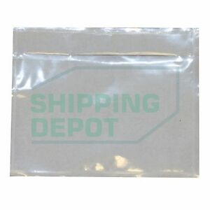 1000 Clear Packing List Envelopes Pouch 4 5x5 5 2 5mil 4 5 x5 5 Secure Seal