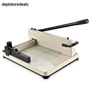 Guillotine Paper Cutter 12 A4 Professional Industrial Heavy Duty Trimmer Office