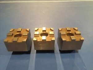 Set Of 3 Edm Tooling Attachment Holder for Use With 3r