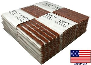 360 Piece Brown 4 Tire Plug Insert String Tubeless Tyre Repair Seals Usa Made