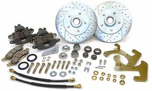 1949 54 Chevy Sedan Front Stock Spindle Disc Brake Conversion