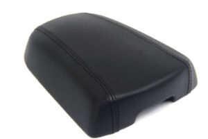Center Console Armrest Leather Synthetic Cover For 11 16 Kia Sportage Black