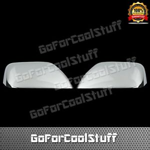 For 08 10 Mazda Tribute Half Mirror Chrome Abs Covers