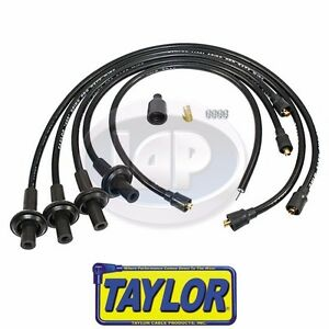 Taylor 10 4mm Black 409 Spiro Pro Ignition Wire Set Aircooled Vw Ac998043