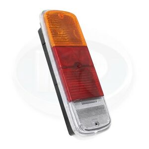 Vw Bus Rear Tail Light Assembly Yellow Amber Red Clear 72 79 211900145g