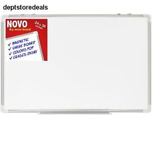 Dry Erase Board Large Magnetic Whiteboard Frame Office Bulletin Calendar Easel