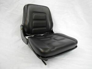 Black Fold Down Seat Forklift Clark Cat Hyster yale toyota Crown Nissan np