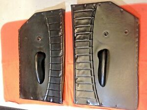 Porsche 356 Interior Door Panel Set 1960 65 In Black