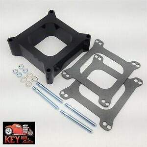 Phenolic 2 Open Carburetor Spacer Holley Quick Fuel Demon Edelbrock Carb Sbc