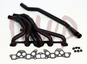 Exhaust Header Manifold System For 77 83 Nissan datsun 280z zx L28e Round Port