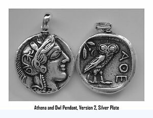 Percy Jackson Necklace Athena Owl Annabetth S Mother Pendant 77 S