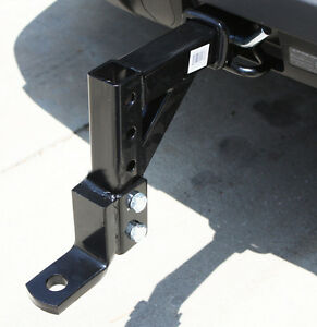 10 Adjustable Trailer Drop Hitch Ball Mount 2 Receiver Tow Hauling Rv Suv