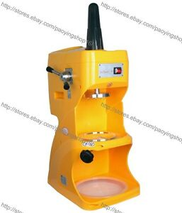 Commercial Electric Auto Shaved Ice Cream Shaving Machine Maker Snow Ice Shaver