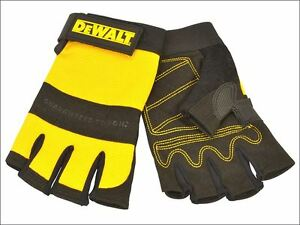 Dewalt 1 2 Synthetic Padded Leather Palm Gloves