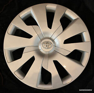 Toyota Yaris Hubcap Genuine Wheel Cover 15 16 Wheel 15 Hatchback 10 Spoke
