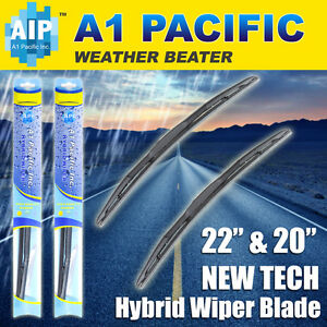 Hybrid Windshield Wiper Blades Bracketless J Hook Oem Quality 22