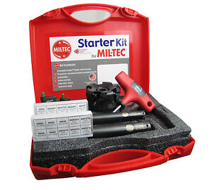 Mil tec 4 Starter Kit With 3 Face Mill 3 4 1 Insert able End Mills Usa
