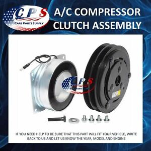 A C Ac Compressor Clutch Assembly Fits York Models 1 Wire 2 Grooves 12 Volt