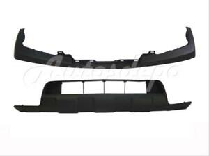 For 2009 2013 Frontier Front Bumper Upper Cap Lower Valance Cover