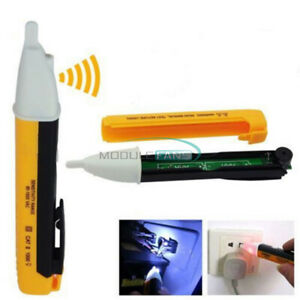 90 1000v Digital Led Ac Electric Power Voltage Tester Volt Pen Detector Sensor M
