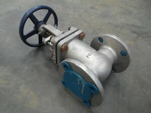 New Powell 2491 2 Gate Valve 275 Wog