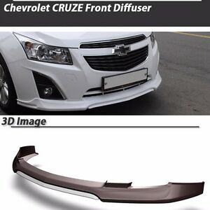 Morris Club Front Diffuser Lip For Chevrolet Cruze J300 2012 painted