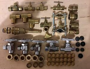 Brass Plumbing Valves And Fittings