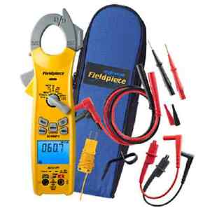 Fieldpiece Sc460 400a True Rms Wireless Clamp Meter 3 phase Rotation Test