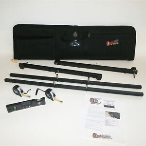 Quicktrick Alignment 90066 Wheel Alignment Kit Quickslide Xl With Case
