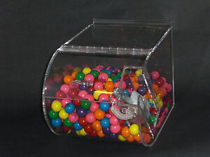 Round Faced Candy Bin 9 for Slatwall