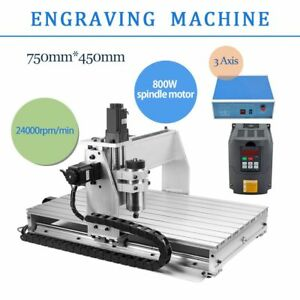 3 Axis Cnc Router 6040 Engraver Milling Machine Desktop Engraving Drilling