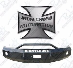 Iron Cross Hd Push Bar Front Bumper 2007 2013 Chevy Silverado 1500 22 515 07