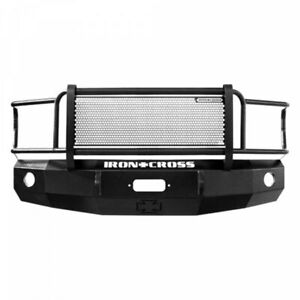 Iron Cross Winch Front Bumper With Grille Gaurd For 81 87 Chevy Gmc Pickup