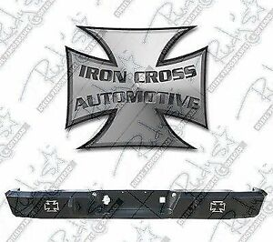 Iron Cross Full Size Hd Rear Bumper For 88 98 Chevy Silverado Gmc Sierra
