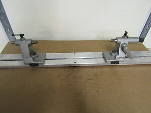 K o lee B922 Centers With 38 Aluminum Bench Center Stand Great For Comparator