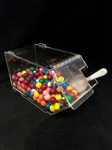 Bulk Foods Candy Nuts Cereal Spice Bin Single Stack able Large Bin