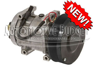 A c Compressor W clutch For Sanden 4499 4768 New