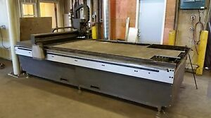 Used Multicam 60 X 120 80 Amp Power Supply 5 8 Max Cnc Plasma Cutter