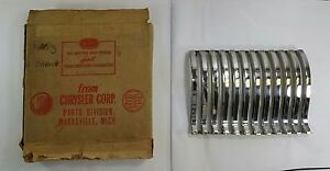 1942 Desoto Grille Right Side New Old Stock In Original Box