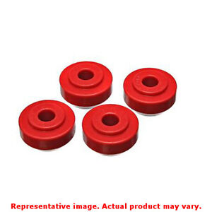 Energy Suspension 4 7113r Red Front Energy Suspension Strut Rod Bushing Set Fit