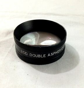 20d Double Aspheric Lens And Case By Dr onic Iso Ce Quality Certified Lens